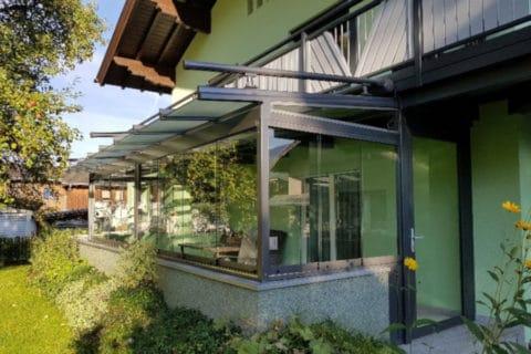 Terrassendach mit Wintergartenmarkise