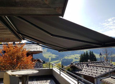 Montage einer Kassetten-Markise in Kirchberg