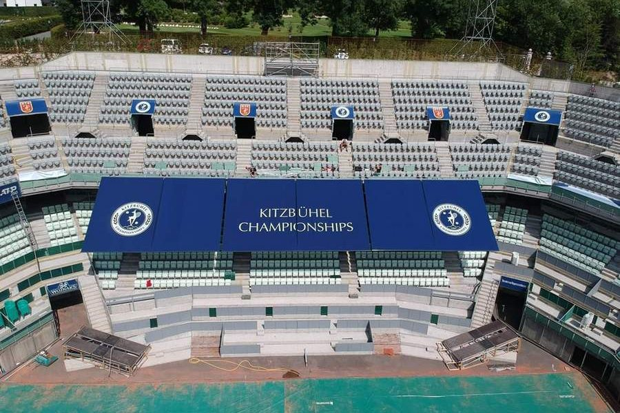 Beschattung | Tennisstadion Kitzbühel